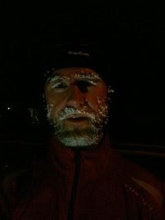 Jegerlober.dk - John Bøhme Dybkjær efter 20 km løbetur i minus 20 grader